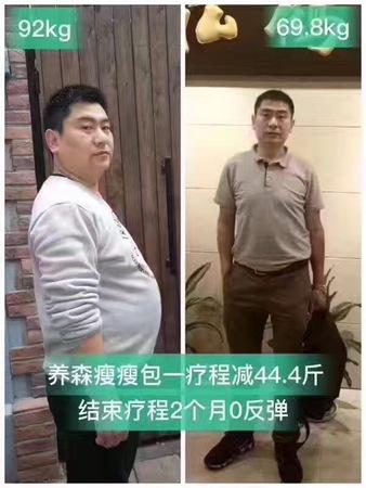 疗程减重44.4斤,0反弹